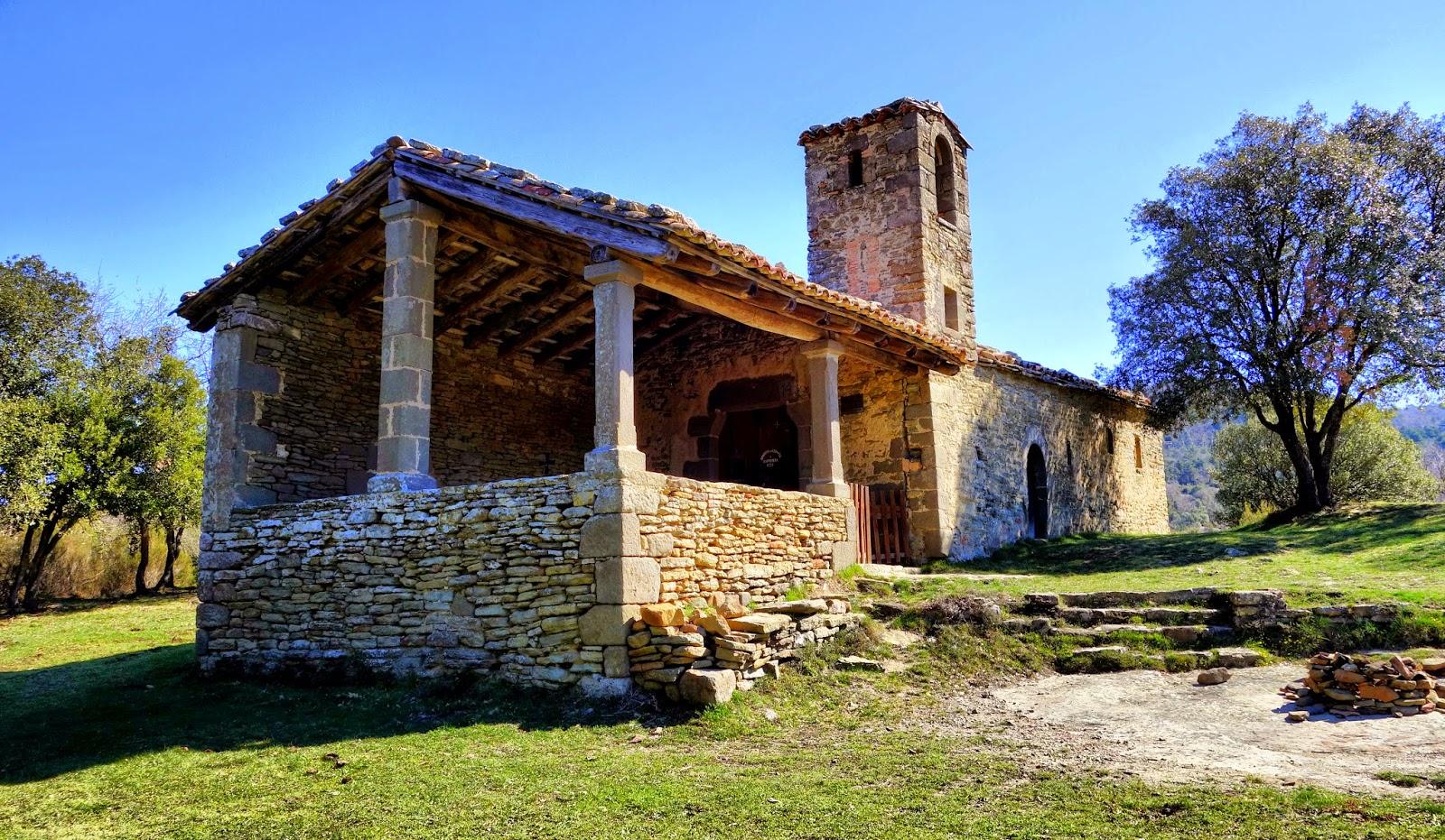 Ermita Sant Corneli: vista lateral